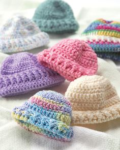"Ravelry: Worsted Weight Cap, hat free Crochet preemie baby pattern by Save the Children, may fit a 18"" doll. Use a smaller hook if necessary."