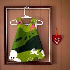 Como hacer un vestido corte trapecio para niñas07