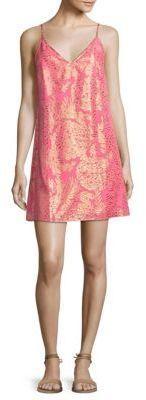 Lilly Pulitzer Lela Coral Reef Silk Sheath Dress
