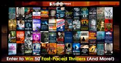 Enter to win 50 fast-paced thrillers from your favorite award-winning and bestselling authors, plus a brand new Kindle Fire or Nook Tablet!