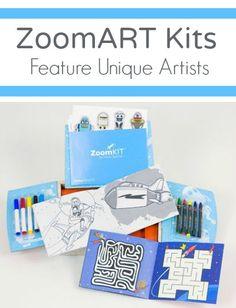 ZoomART Kits Feature Unique Artists~Fun art activities for kids Art Activities For Kids, Book Activities, Fun Art, Cool Art, Pre Production, Illustrators, Boy Or Girl, Artists, Kit