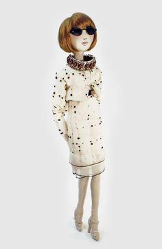 anna wintour - kouklitas dolls