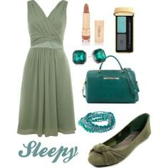 Sleepy inspired outfit- from Snow White and the zseven Dwarves