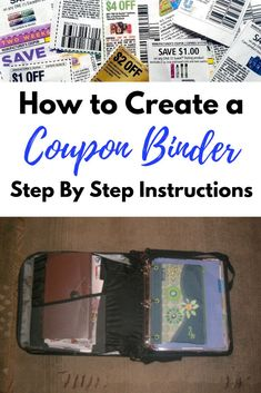 How to Coupon Learning how to create a coupon binder has saved me so much money! Using coupons to save is really fun. I love getting free stuff. This couponing How To Start Couponing, Couponing For Beginners, Couponing 101, Extreme Couponing, Best Coupon Apps, How To Coupon, Coupon Binder Organization, Organization Hacks, Digital Coupons