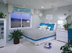 Blue Bedrooms For Girls