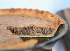 Pecan Pie... THM-S by Briana Thomas... low carb