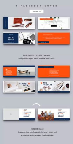 Social Media Banner, Social Media Template, Social Media Design, Facebook Cover Photo Template, Facebook Cover Design, Banner Design Inspiration, Web Inspiration, Banner Template Photoshop, Cover Photo Design