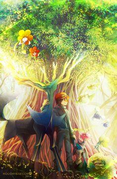 Pokemon X: Xerneas , fan art Lucario is not that small but it is still really cool Pokemon Fusion, Pokemon X And Y, Pokemon Pins, Pokemon Fan Art, Pokemon Stuff, Pokemon Xy Game, Pokemon Fairy, Pokemon Manga, Arrow
