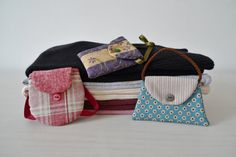 Trendy Bags II lavender sachets PDF sewing pattern by twobusyhens