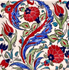 Just for something different, Jackie suggested some glazed floral Turkish tiles as the subject matter for a jigsaw puzzle. Jig Saw, Daily Jigsaw, Turkish Tiles, Mosaic Art, Mosaics, Flower Pictures, Textile Design, Coco, Glaze