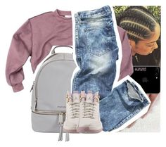 """""""moment for life x nicki minaj ft. drake"""" by lamamig ❤ liked on Polyvore featuring MICHAEL Michael Kors and NIKE"""