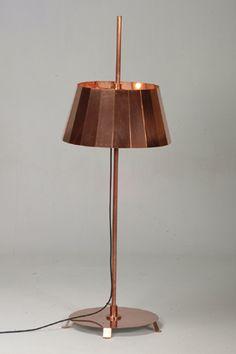 Piet Hein Eek Copper Lamp Interior, Lampshades, Lamp, Lighting Design, Lights, Bronze Lighting, Copper Rose, Copper Lamps, Piet Hein Eek