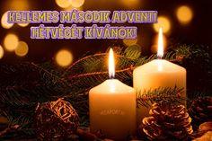 Áldott, békés advent második vasárnapját kívánok! - Megaport Media Advent Candles, Pillar Candles, Share Pictures, Animated Gifs, Album, Nice Asses, Candles, Card Book