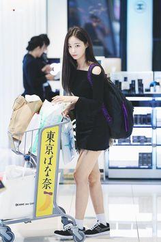 (3) Twitter Korea Fashion, Kpop Fashion, Daily Fashion, Girl Fashion, Airport Fashion, Pretty Korean Girls, Beautiful Asian Girls, Korean Celebrities, Celebs