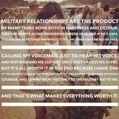 military life❤️ quotes Inspirational Quotes inspirational quotes from the bible Air Force Girlfriend, Marines Girlfriend, Airforce Wife, Navy Girlfriend, Navy Boyfriend, Marine Girlfriend Pictures, Military Girlfriend Quotes, Deployed Boyfriend, Army Wife Quotes