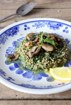 Risotto, Grains, Ethnic Recipes, Food, Meal, Eten, Meals, Korn