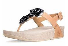 New Fitflop Floretta Brown Black Clearance are good to wear.$57.88