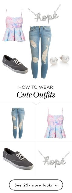 """Cute Summer outfit !"" by savannahjet on Polyvore"