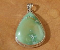 Pendant with bluegreen Turquoise