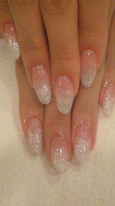 """""""Yuki-chan ☆"""" - Holographic glitter fade nails by nail salon Jill & Lovers in. - """"Yuki-chan ☆"""" – Holographic glitter fade nails by nail salon Jill & Lovers in Tokyo – # - Glitter Fade Nails, Faded Nails, Holographic Glitter, Clear Nails With Glitter, Glitter Acrylics, Glitter French Nails, Clear Gel Nails, Glitter Top, Glitter Dress"""