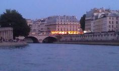 My stunning cruise down the Seine #parisrocks