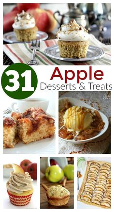 31 Apple Desserts & Treats - Apple Recipes to LOVE
