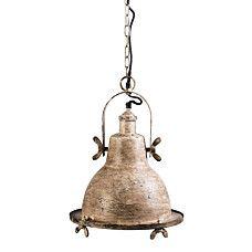 Hanglamp Fearless antiekbruin - 91418