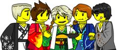 "maypong: "" Lego ninjago happy new year by MaylovesAkidah "" awesome!"
