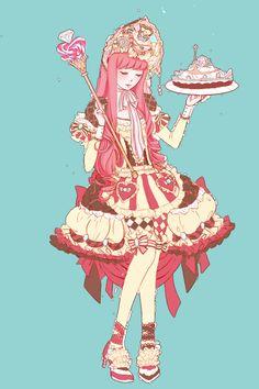Princess Lolita Bubblegum by vexfay on deviantART