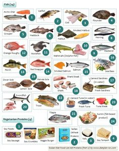 Dukan Diet Food List: 68 Proteins (Part 2)