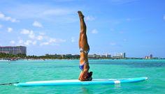 un Cours de Paddle Yoga | LilLE était une fois ...
