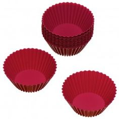 #Cupcake-Förmchen rot 12 Stück #baking #baken #bækka