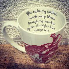 Cardiac Muscle Mug - Charlotte Clark Designer Maker