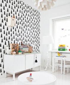OLIVE'S WORLD: OLIVE'S ROOM - removable wallpaper