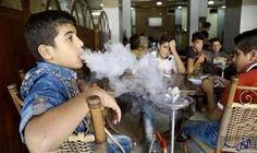 """""""التدخين"""" يهدد صحة وأخلاق أطفال سورية وسط…: انتشرت على صفحات """"فيس بوك"""" السورية صور لأطفال أثناء فترة الدوام المدرسي من عمر تسع إلى 12…"""