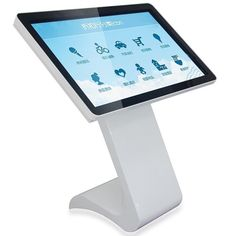 """42"""" Interactive Touch Screen Kiosk Floor Standing All In One PC"""