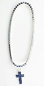 Diamond Studded Cross Anklet - Dangle Malibu Anklet (Blue)  Product ViewSee larger image and other views (with zoom)Check All OffersAdd to Wish ListCustomer ReviewsDescriptionDiamond Studded Cross AnkletCrystal Cubic Zirconias Inset In Dangle and Along http://ecx.images-amazon.com/images/I/31Oq94NGpfL._SL300_.jpg http://electmejewellery.com/jewelry/anklets/diamond-studded-cross-anklet-dangle-malibu-anklet-blue-ca/