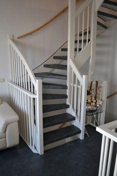 Open trap met tapijt tapijt op trappen pinterest for Open trap bekleden met hout