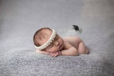 This beautiful tieback is perfect for either newborns or young children. Adds a touch of class and elegance for any occasion, especially for