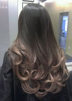Thinking about getting blonde ombre hair but not sure. Titanium pearl ash blonde Ombre on asian hair