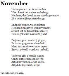 November - J.C. Bloem