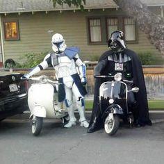 Storm Troopers VESPA-ed!!!!