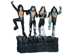 """KISS Gene Simmons, Peter Criss, Ace Frehley & Paul Stanley Prepainted Model Kits       Famous Words of Inspiration...""""Everybody wants to be somebody; nobody wants to grow.""""   Johann Wolfgang von Goethe — Click here for more from Johann... more details available at https://perfect-gifts.bestselleroutlets.com/gifts-for-holidays/toys-games/product-review-for-kiss-gene-simmons-peter-criss-ace-frehley-paul-stanley-prepaint"""