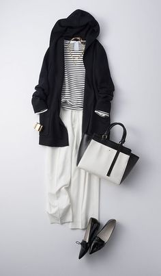 japanese fashion Look! 1 - japanese fashion Look! Office Fashion, Work Fashion, Modest Fashion, Hijab Fashion, Daily Fashion, Everyday Fashion, Fashion Looks, Fashion Outfits, Womens Fashion