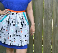 Zombie Apron in grey teal and orange by wineNwhiskeyaprons on Etsy