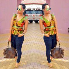 pokello ~African fashion, Ankara, kitenge, African women dresses, African prints, African men's fashion, Nigerian style, Ghanaian fashion ~DKK