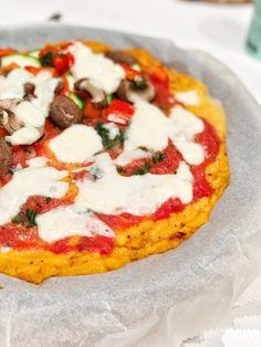 Süßkartoffel-Pizza, Gemüsekuchen, Sophia Thiel