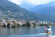 Lago Maggiore bei Locarno in der Schweiz.  #Schweiz #lagomaggiore #locarno