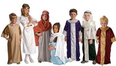 The Christmas story acted out by children is one of my favorite Christmas traditions - these dress up costumes are a perfect way to make it easy.
