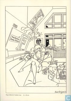 Comic Book - Franka - Mega Editie III